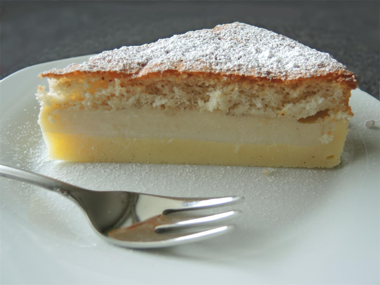 zauberkuchen magic cake 1 - طريقة عمل الكيكة الهشة زي المحلات وصفات فاطمة ابو حاتي ورشا الشامي