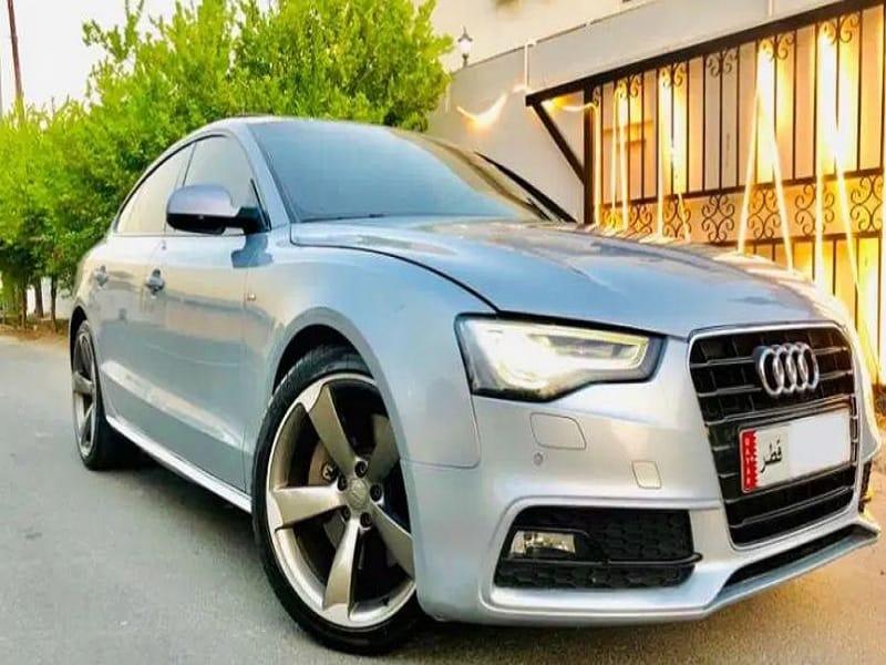 Audi A5 50 TFSI the highest grade 2015 - مستعمل بسعر المزادات.. أرخص سيارات في قطر
