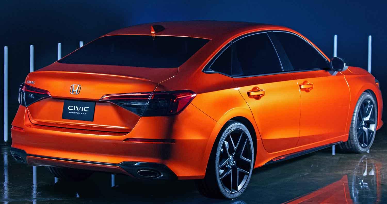 04 2022 Honda Civic Protoype source - أسعار سيارات هوندا سيفيك 2022 في قطر