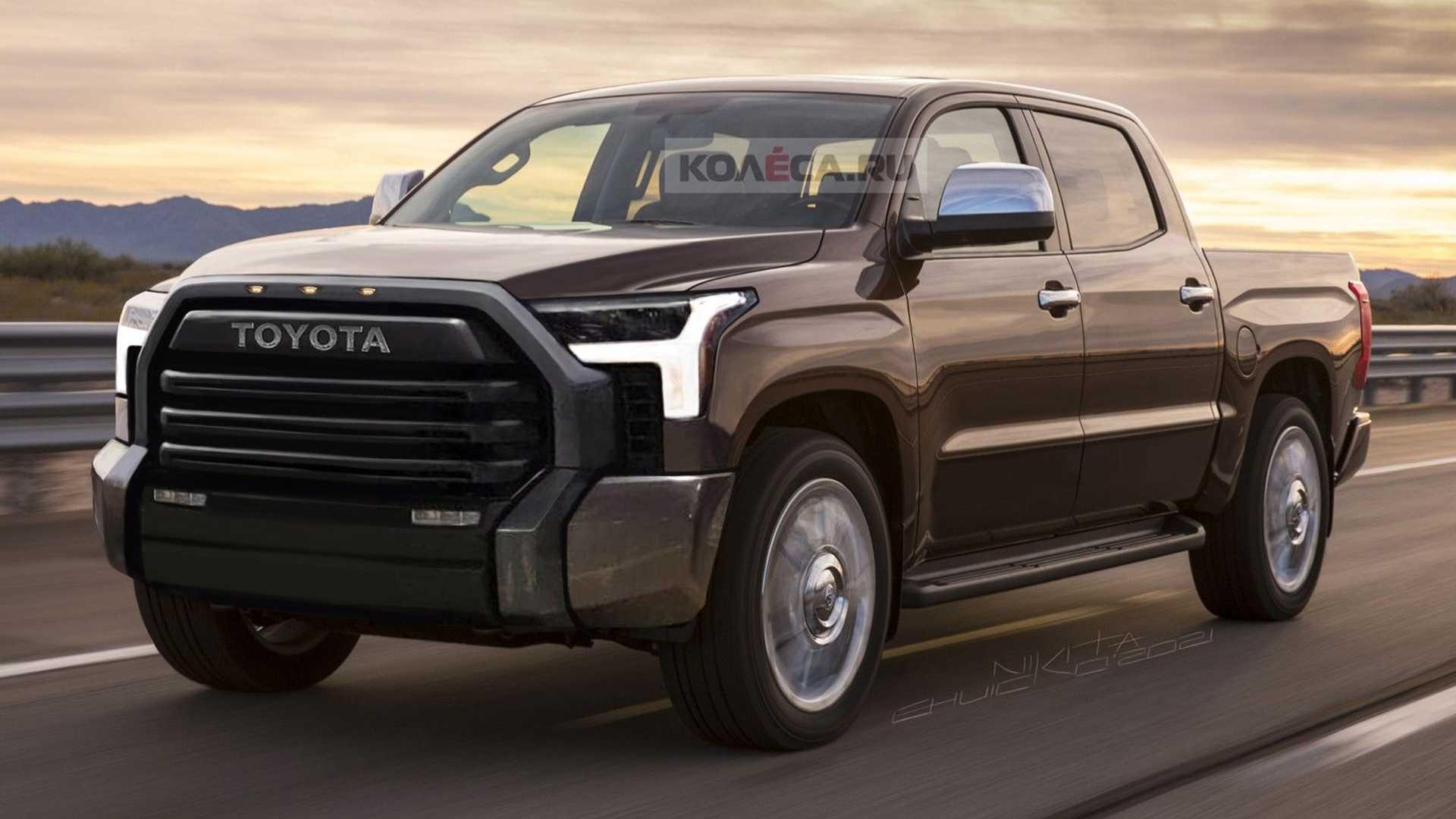 تاندرا 2022..ثورة جديدة في عالم الشاحنات البيك أب - تويوتا تاندرا 2022..ثورة جديدة في عالم الشاحنات البيك أب