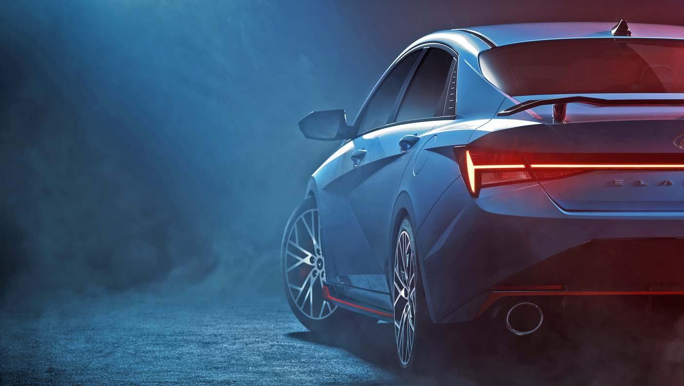 Hyundai Elantra N teaser image 22 - بالصور |نظرة تفصيلية علي هيونداي إلنترا أن 2022