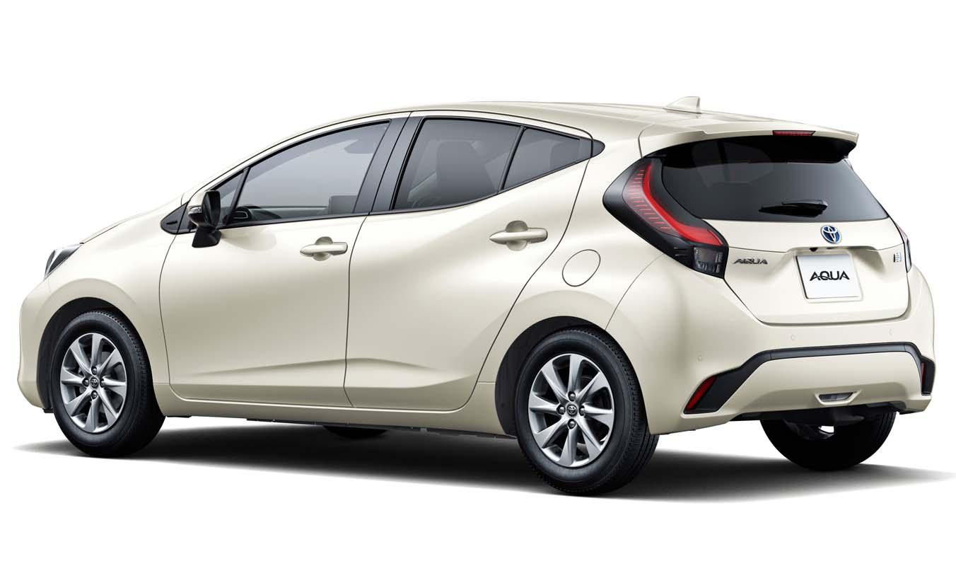 20210719 04 02 - تويوتا أكوا موديل 2022..سيارة هجينة بتصميم أكثر جاذبية